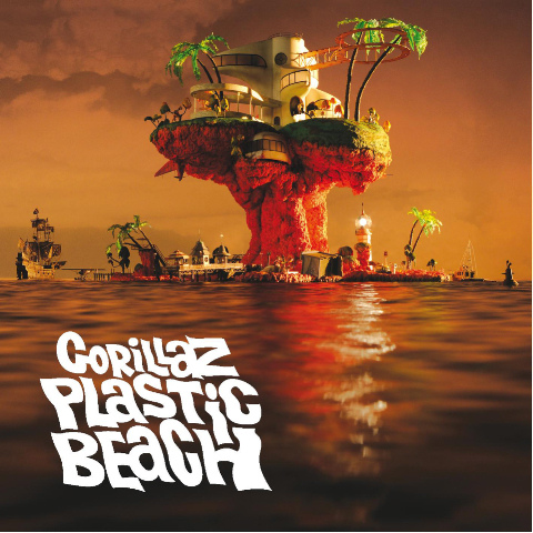 Gorillaz Plastic Beach. For Plastic Beach , their